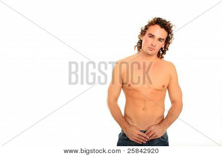 Nice Body Guy With Long Hair