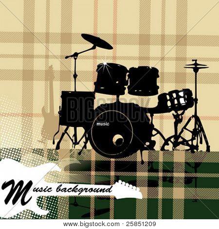 tartan music background