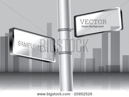 Vector Billboard on The Column