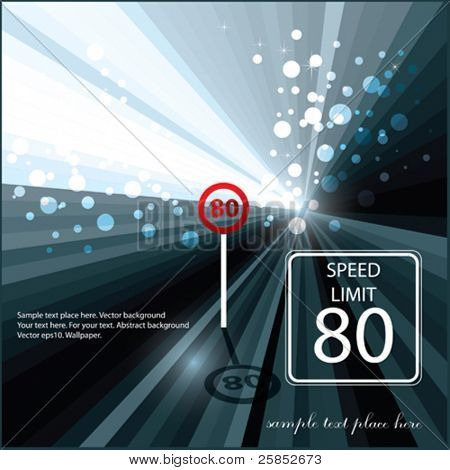 Vector Sign Speed limit