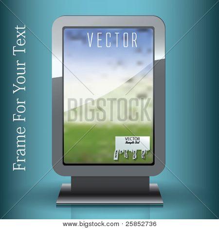 Vector Banner Frame