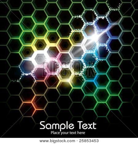 Abstract Honeycomb