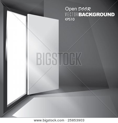 Vector Light through an open Door