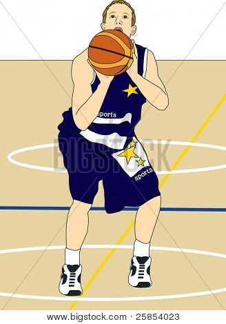 Player in Basketball