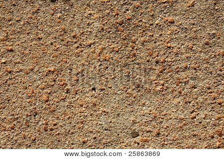 The Wall Sand  With Texture.