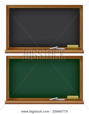 vector illustration of Blackboard