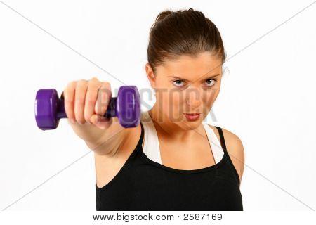 Woman Trainging