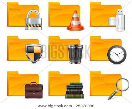 Folder With Different Icons