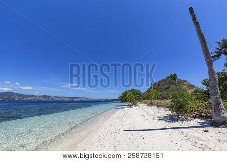 An Empty Beach On An