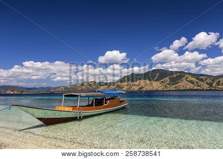 A Traditional Indonesian Boat In