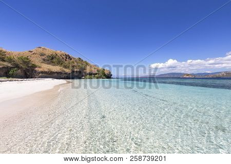 Beautiful Tropical Water On A