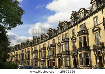 Upmarket Residential Housing, Edinburgh, Scotland