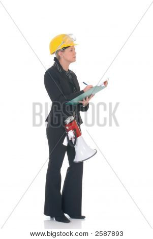 Construction Supervisor Woman