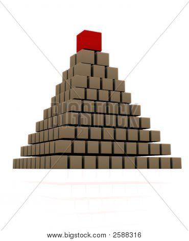 Piramis Piros