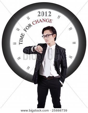 Phtoo motivacional: Tiempo de cambio