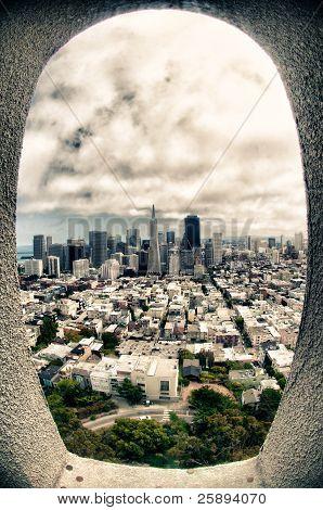 City view of San Francisco
