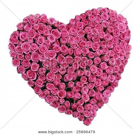 red roses in a heart shape representing love and valentines day images