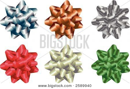 Gift Bow Vector Set