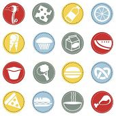 fresh food icons 3