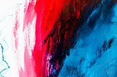 Abstract Oil Painting Background. Oil On Canvas Texture. Hand Dr poster