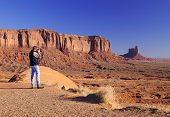 Photographing Monument Valley poster