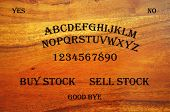 picture of ouija  - Ouija Board with a stock related question - JPG