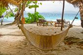 Beach hammock waiting for you!