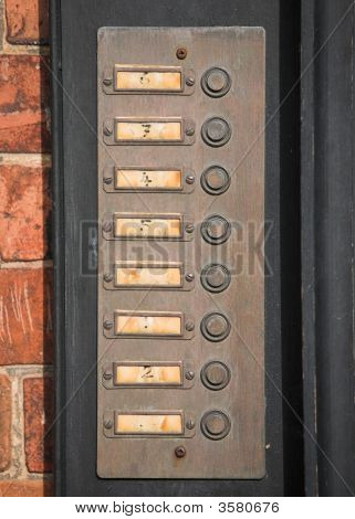 Numbered Door Bells