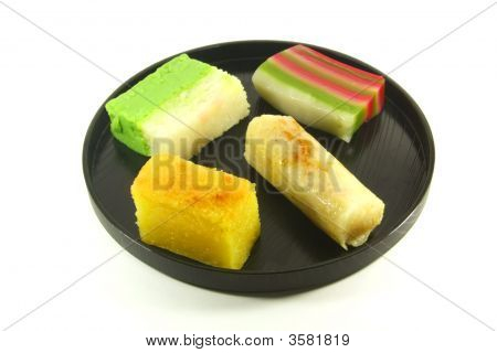 Exotic Colorful Traditional Cakes