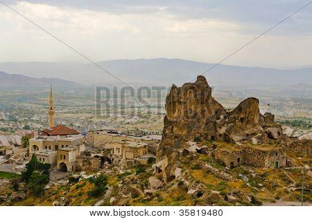 Uchisar, Turkey, Cappadocia