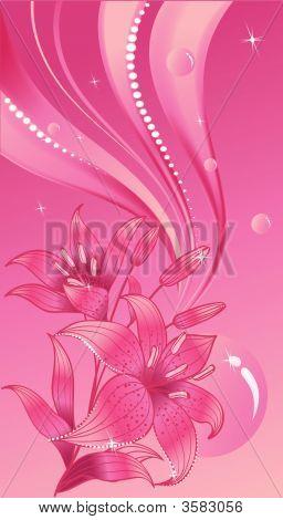 Glamur Pink Lily
