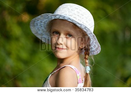 Portrait Of A Charming Girl