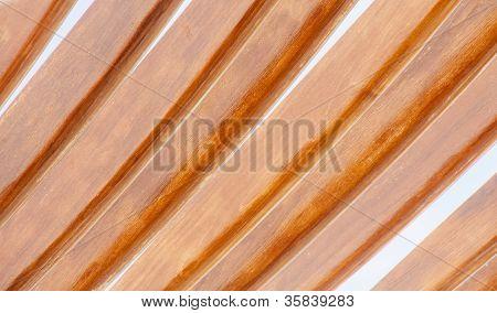 Curved Wood Slats