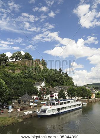 Cruising On The River In Germany