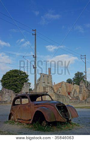 Oradour-sur-glane, Village Martyr, France