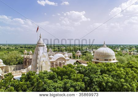 Jain Temples Of Jaisalmer In Rajasthan State In India