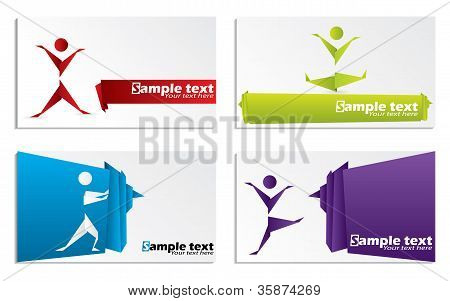 Origami Business Card Set