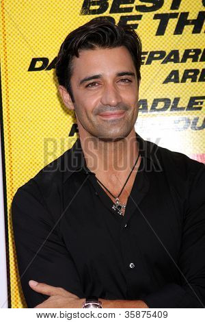 "LOS ANGELES - AUG 14:  Gilles Marini arrives at the ""Hit & Run"" Los Angeles Premiere at Regal Cinema on August 14, 2012 in Los Angeles, CA"