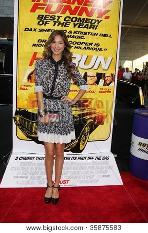 LOS ANGELES - AUG 14:  Kelsey Chow arrives at the