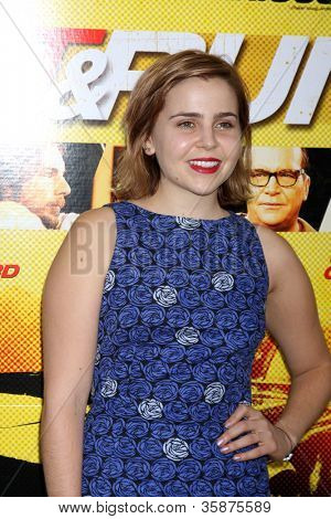 LOS ANGELES - AUG 14:  Mae Whitman arrives at the