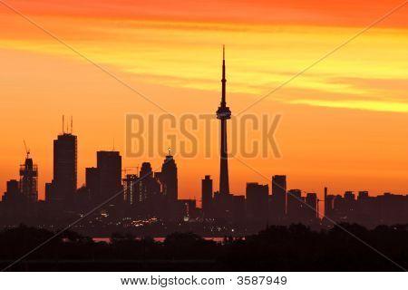 Toronto At Sunrise