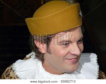 Italian Prince Lorenzo Medichi Jr