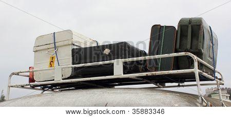 Retro suitcase's