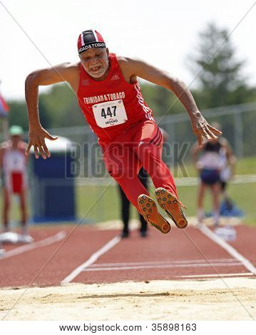 Trinidad Tobago Senior Man Long Jump