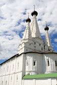 pic of uglich  - The white monastery on the sky background Uglich - JPG