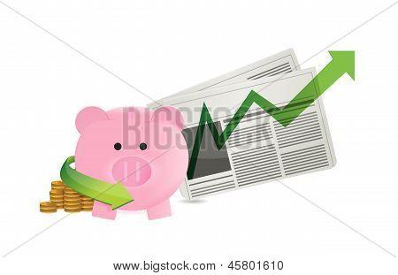 Newspaper Business Economy Profits