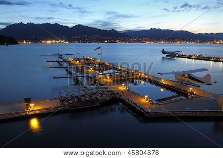 Vancouver Harbor Floatplane Base Dawn