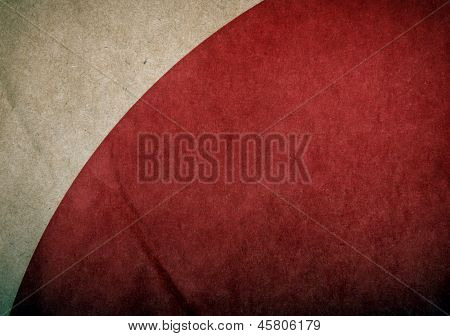 Grunge Red Paper Background
