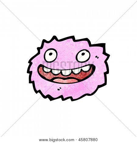 little pink furball monster
