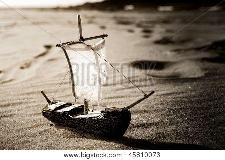 Ship Toy Model